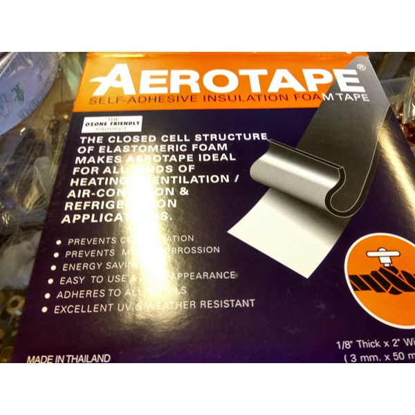 AEROTAPE self adhesive insulation foam