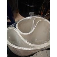 PVC Conveyor Belt White