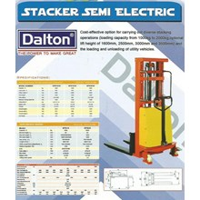 Semi Elektrik Stacker DYC 2020