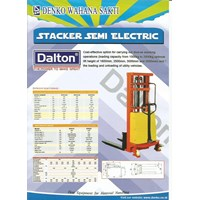 Hand Stacker Semi Elektrik 2ton 2meter