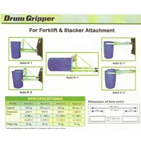 Drum Gripper For Forklift Alat Angkat Drum