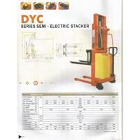 Jual Hand Stacker Semi Electric DYC 1016 2