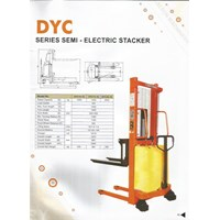 Hand Stacker Semi Electric DYC 1016