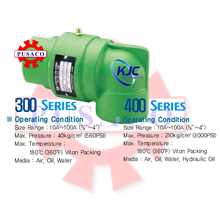 Swivel Joint Series KJ300 & KJ400