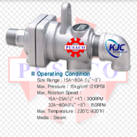 "Kwang Jin Rotary Joint (KJC) KR 3000 – 15A (1/2"") 1"
