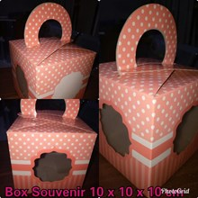 Box Souvenir Ukuran 10 X 10 X 10 cm