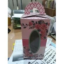 kotak souvenir Berbahan Kertas Uk. p. 8 x l. 8 x t. 16