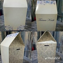 Kotak Souvenir Ukuran 9 x 9 x 11 cm