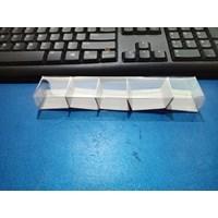 Plastik Mika Kemasan Souvenir Uk. 17.5 x 3.5 x 2 Dk + Ivory 1
