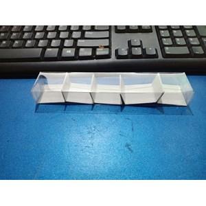 Plastik Mika Kemasan Souvenir Uk. 17.5 x 3.5 x 2 Dk + Ivory