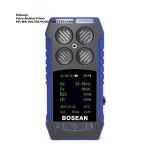 Dari BH-4S Gas Detector Alat Ukur Tekanan Gas  0