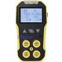 BH-4A Portable Multi Detector Gas Alat Ukur Tekanan Gas