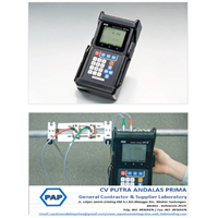 Portable Ultrasonic Flowmeter UFP 20 Detektor Kebocoran Air