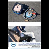 Portable Water Pressure Recorder FUJI FJN 501 Compl Detektor Kebocoran Air