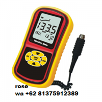 Vibration Meter with Piezoelectric Meter (Max Hold Value)