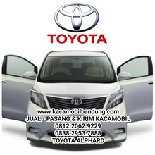 toyota alphard car glass
