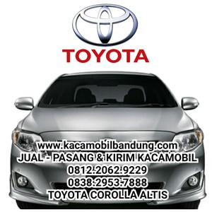 Toyota Corolla Altis car glass