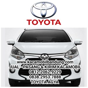 Kaca mobil Toyota Agya