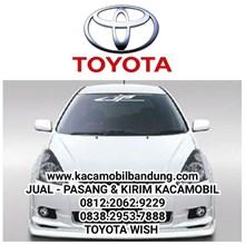 Kaca mobil Toyota Wish kacamobil