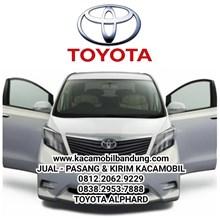 Kaca mobil Toyota Alphard