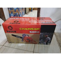 Distributor Chainsaw Bosco BC5880 Sparepart Berkualitas (58CC) + BAR 22