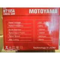 Jual Gergaji Bulat/Circular Saw Motoyama MT185A
