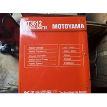 MOTOYAMA Electric Router MT3612