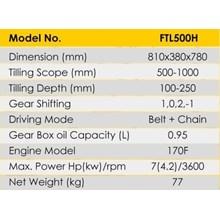 Cultivator Tiller Firman FTL500H