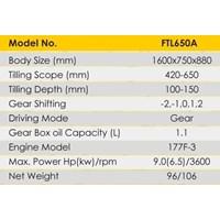 Jual Cultivator Tiller Firman FTL650A