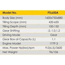 Cultivator Tiller Firman FTL650A