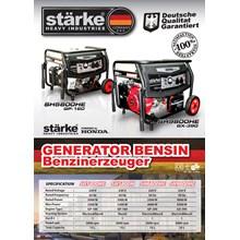 Genset Bensin Starke SH5800HE