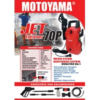 Alat Semprot Pertanian Motoyama Jet Cleaner 70P