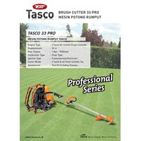 Mesin Potong Rumput Tasco 33 Pro