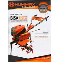 Hummax Cultivator Raptor Type for farm and garden