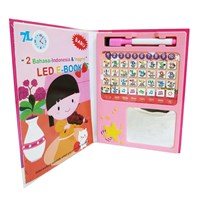 Distributor 7L - Mainan Edukasi Led E-Book - Pink 3