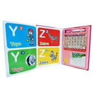 Jual 7L - Mainan Edukasi Led E-Book - Pink 2