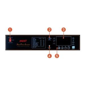 Dari Solar Inverter MUST PV3500 Series (4-6kW 3