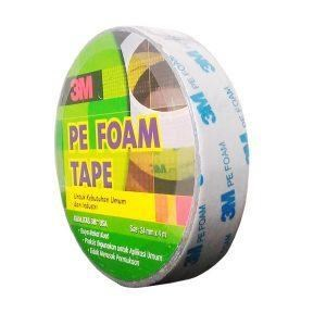 Double Tape 3M PE Foam Size 1 in x 4.5 M Isolasi 3M