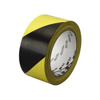 3M Floor Marking Tape 766 Kuning Hitam 1