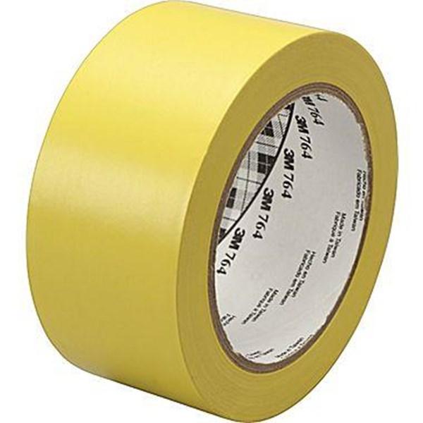 3M 764 Floor Marking Tape Isolasi Hazard Marking Tape