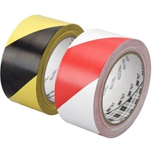 3M 766 Floor Marking Tape Isolasi Hazard Marking Tape