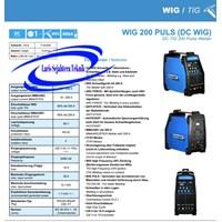 Beli Mesin Las TIG 200P DC Germany Teknologi Stahlwerk  4
