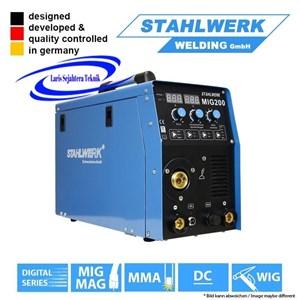 Mesin Las MIG 200 Bisa 3 Fungsi Germany Teknologi Stahlwerk