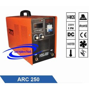 Mesin Las Inverter Arc-250 Jasic Single Phase