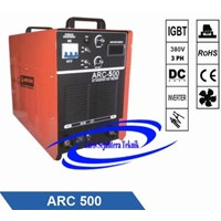 Mesin Las Arc-500 Jasic Three Phase 1