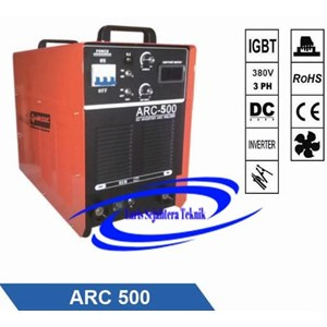 Mesin Las Arc-500 Jasic Three Phase