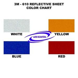 Scotchlite Reflective Tape 3M 610 Series Stiker Reflective Tape