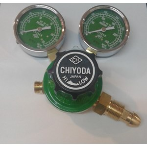Regulator Chiyoda New Aster Oxygen Regulator Gas Oxygen Chiyoda