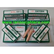 Chiyoda Cutting Tip Acetylene dan Lpg Nozzle Mesin Pemotong Besi