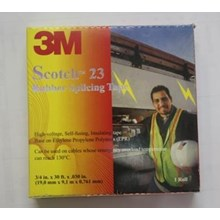 Isolasi 3M Scotch 23 Rubber Splicing Tape Isolasi Murah Dijakarta